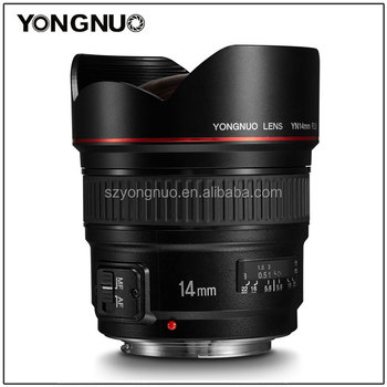YONGNUO Camera Accessory Ultra-wide Angle Prime Lens YN14mm F2.8