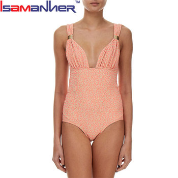 Wholesale customized one piece woman bikini swimwear