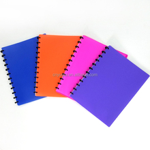 Top sale factory PP A4 display book with removable sheet price