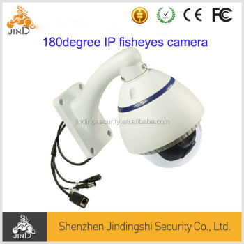 Fisheye 180 Degree 3MP IP Vandalproof Camera Waterproof Wide Lens Camera