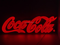 GuangZhou Cocacola advertising indoor/outdoor led letters billboard sign