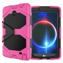 Multi-function Hybrid Case For LG GPAD2 V498 Case 8.0 Inch Cover With Stand