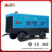 Diesel Engine Driven Car Portable Air Compressor