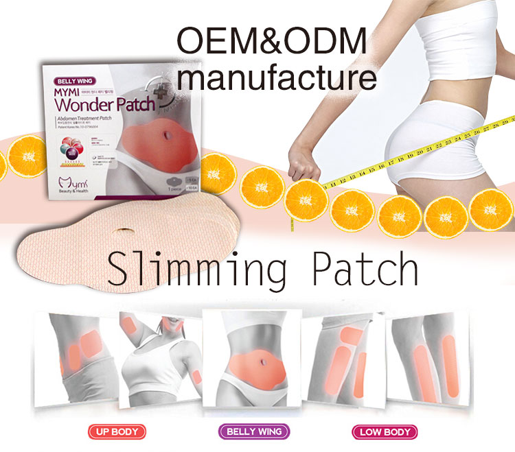 Herbal weight loss patch for belly better then herbal slimming capsule