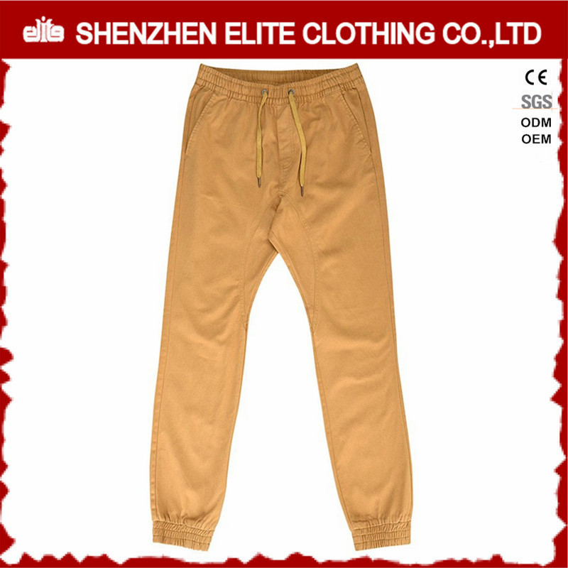 Mens Baggy Cheap Khaki Cotton Chino Trousers Pants
