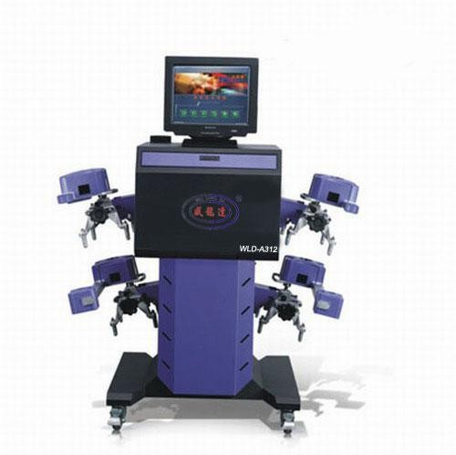 WLD-A312 4 Robot CCD Car wheel alignment for sale