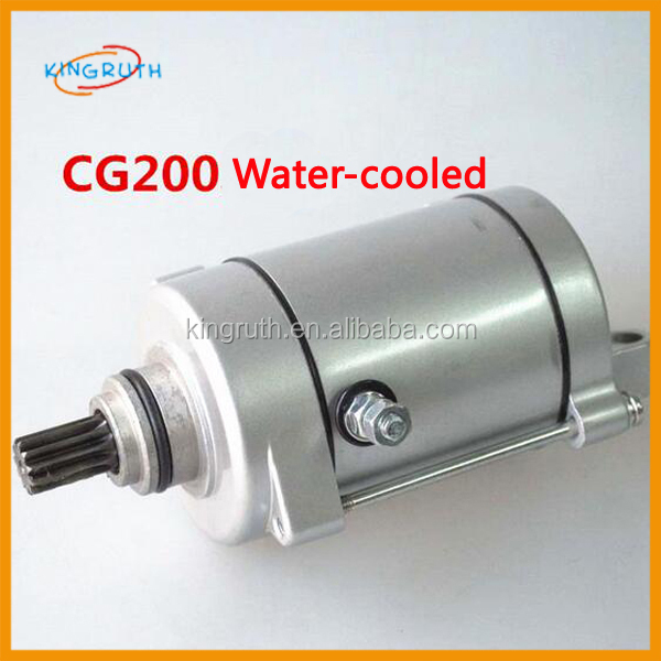 Motorcycle starter motor for CG200 WATER-COOLED