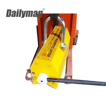 5000Kg, 5 Ton Heavy Duty Steel Plate Permanent Magnetic Lifter / Super Power Lifting Magnet