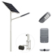 galvanized solar street lighting pole /street lamp post with single or double arms