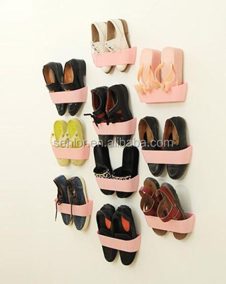Wall Hanging Shoe Rack wall mounted shoe rack high heel magnetic shoe rack - buy multi