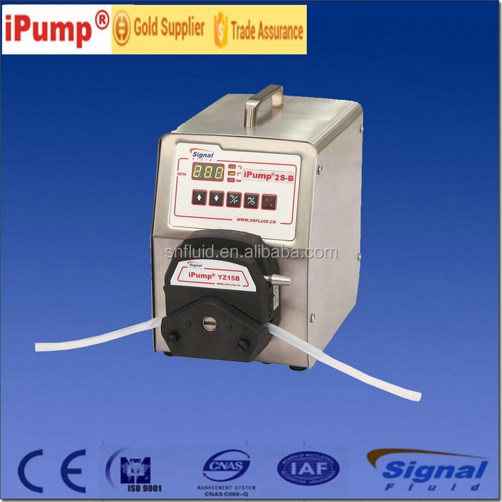 prefessional manufacturer peristaltic pump with analogic speed adjustment