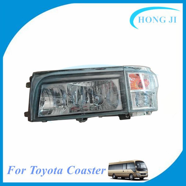 New Mini bus DG2002-5 headlight for toyota coaster bus parts