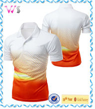 Mens cool fabric sporty design your own fabric t-shirt
