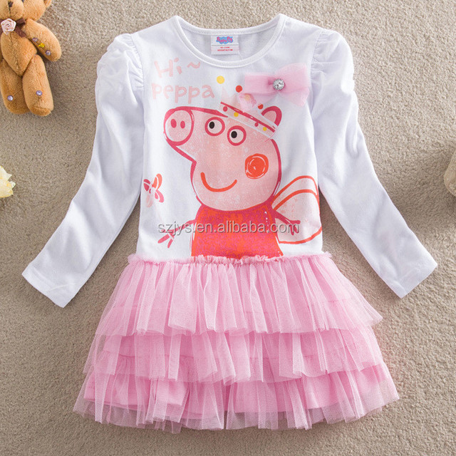 2015 Lovely New Toddler Baby Kids Girls Princess Party Birthday Tutu Bow Flower Pink Dresses