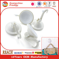 Decorative coat hooks with suction cup, super suction hook