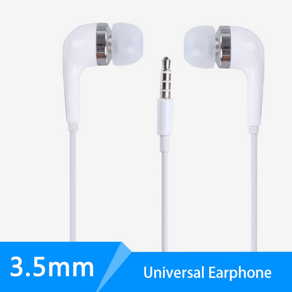 Metal stereo headphones in ear,wired earphones with mic,wholesale comfortable headphones