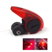 Red Color Safety Road Bike Warning LED Light Folding MTB Cycling Bicycle Brake Light