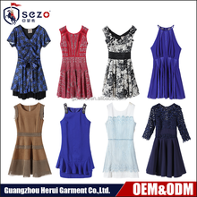 New Model Popular Summer Woman Short Dresses Wholesale OEM Service Ladies Casual Dress