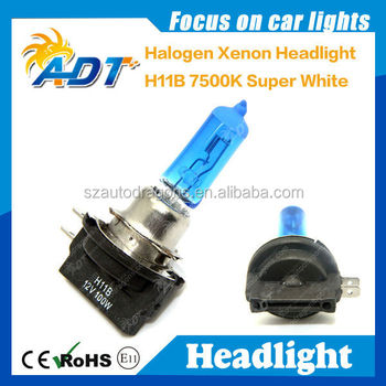 100W H11B Halogen OEM replacement 12v 35/35w super bright headlight bulb