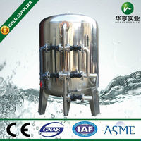 water filter manganese sand filter system stainless steel water treatment plant 100GPM Iron removal