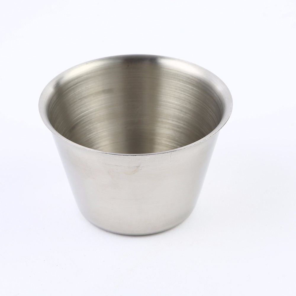 Drinkware Stainless Steel Sauce Bowl 2oz,4oz,6oz