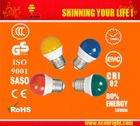 Low Price! Decoration mini LED Bulb 0.5w Plastic G45 with CE ROHS E27