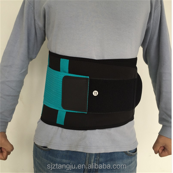 aliexpress back protection belt super thin lower back lumbar support belt/brace