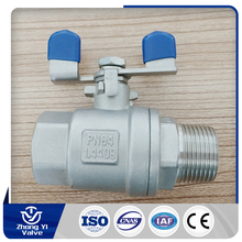 MY TEST T2F01NHD 2pc 1000wog ss 316 ball valve import from china