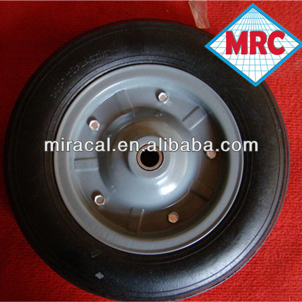supper friction rubber mining cart mag wheels 4.00-6