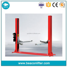 Bottom price hot-sale 2 post car lift rotary