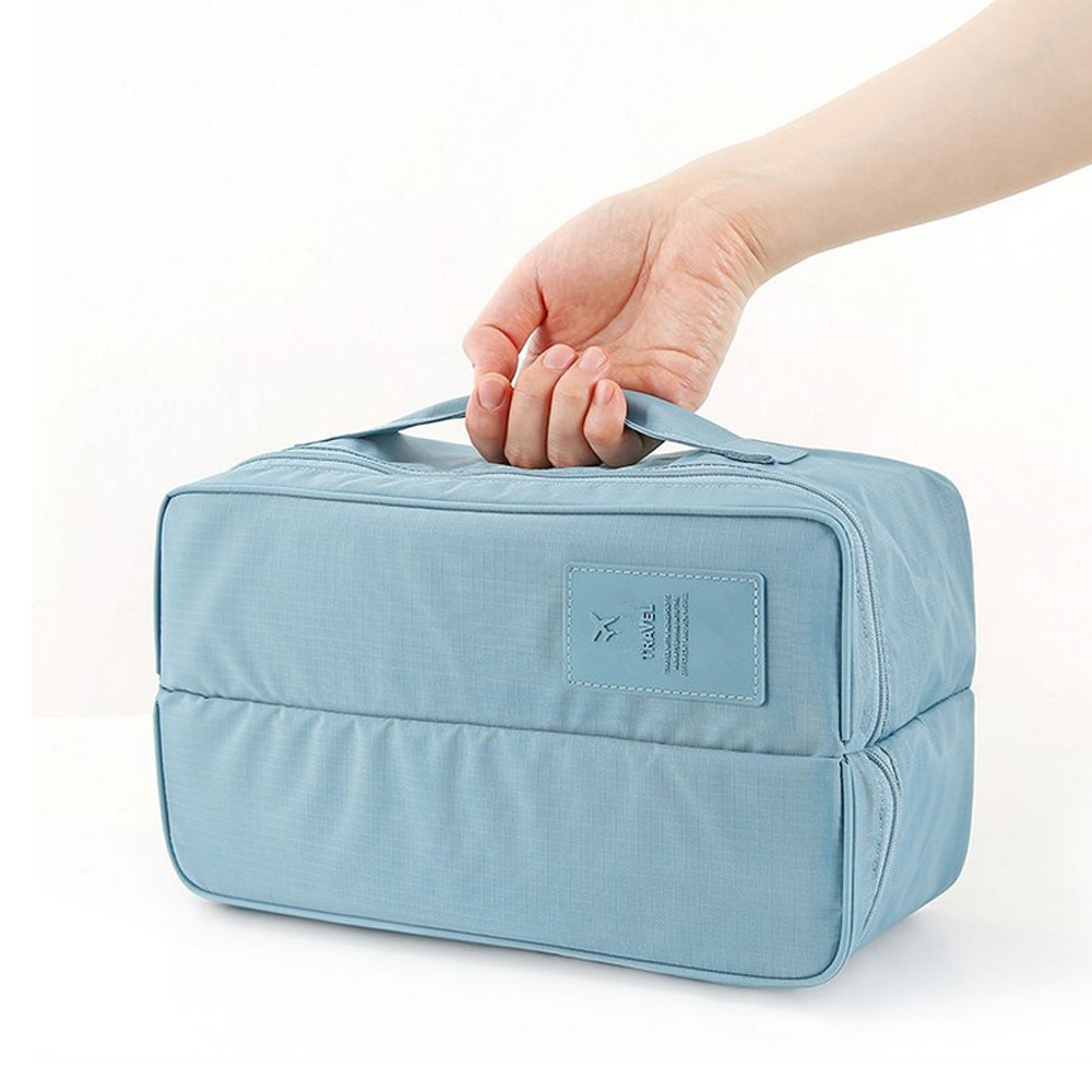 Most Popular promotional eco makeup bag beauty cosmetic bag for <strong>travel</strong>