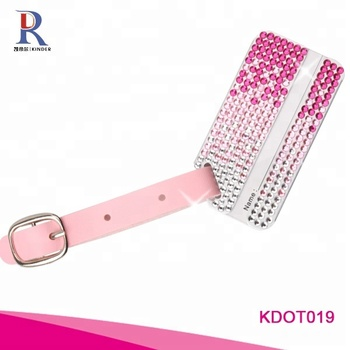 Bling high quality Crystal Aluminum Luggage Tags