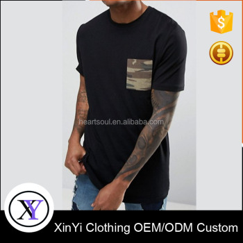 Fashion Cheap high quality mens Crew Neck Classic Fit T-Shirt