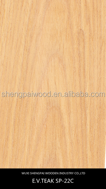 good quality artificial teak timber wood sliced engineered recon face veneer press machine used in building decoration