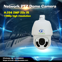2016 2MP 20x IR Network Outdoor Dome PTZ ip camera made in China
