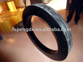 High performance PU ring/PUR ring/PU o-ring/PUR o-ring is used for vibrating pile driver