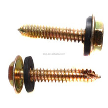 fully threaded self tapping screws with zinc plated