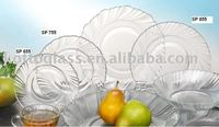 SP0106 glass plate,glass dish,glass tray