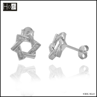 2016 Hot designs 925 silver earrings for women