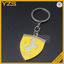 hot selling promotion metal car brand keychain