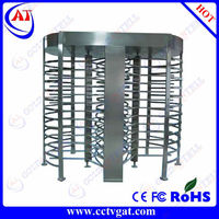 Entrance Stainless steel access control building management system & full height turnstile & turnstile