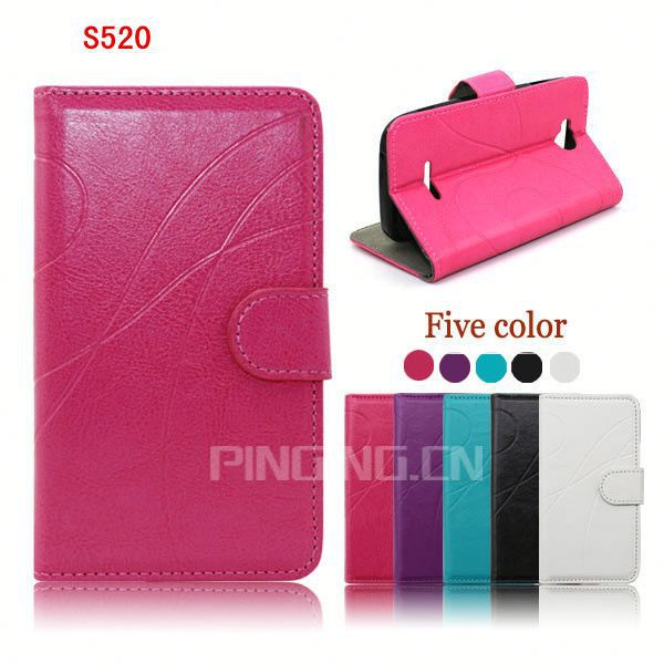 Smart Back Cover Wallet high quality Leather Phone Case for Nextel S520