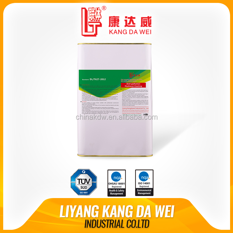 PRTV insulator coating for anti-pollution flashover