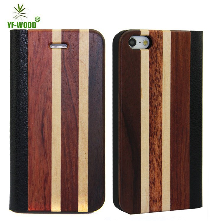 Eco-friendly real wood personalized wooden cell phone case for iphone 6, for iPhone 6s bamboo wooden back cover