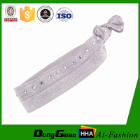 New designed hair band knotted decorative wholesale elastic hair ties