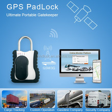 cargo container 3g gps tracker lock e seal with free monitor platform/app