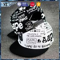 Factory supply custom design leather visor snapback hat in many style