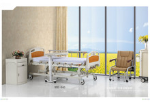 CE ISO!!! Guarantee period within 5years Multi-functions hospital beds with CPR by linak motor