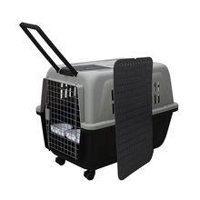 Large Plastic Animal Carrier Dog Pet Travel Crates And Carrier For Small Dogs
