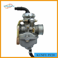 KUNFU PZ20 20mm Carburetor For Dirt Bike ATV KF Carby